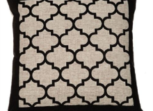 Evergreen Black and Gray Pillow