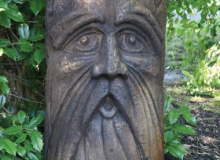Massarelli Old Man Totem