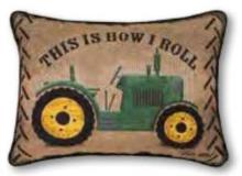Manual Farm Pillow