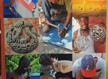 Beyond Borders Haitian Metal Art