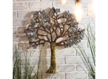 Evergreen Metalic Tree