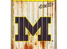 MI Metal Sign