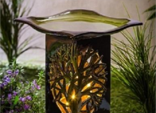 Evergreen Bird Bath