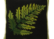 Evergreen Fern Pillow
