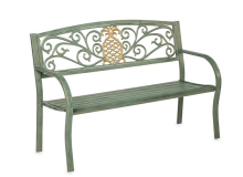 Evergreen Pineapple Bench