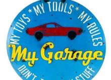 Galton Garage Sign