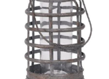 Metal Rustic Candle Holder