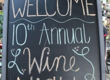 Welcome to Wolf's Wine Event 2016