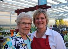 Darlene and her Momma