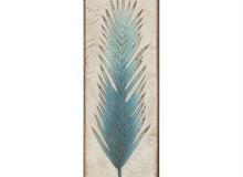 Regal Fern Leaf - Blue