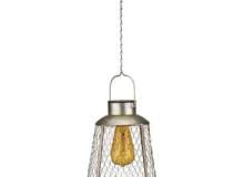 Regal Art Edison Lantern Solar Bell
