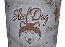 Terra Design Sled Dog Beer Can