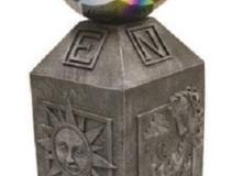 Compass Globe Holder