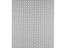 Evergreen Grey Diamond Rug