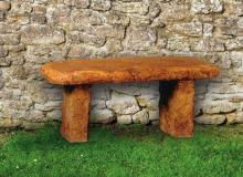 Henri Garden Stone Bench