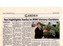 Victory Garden Tea from Sentinel